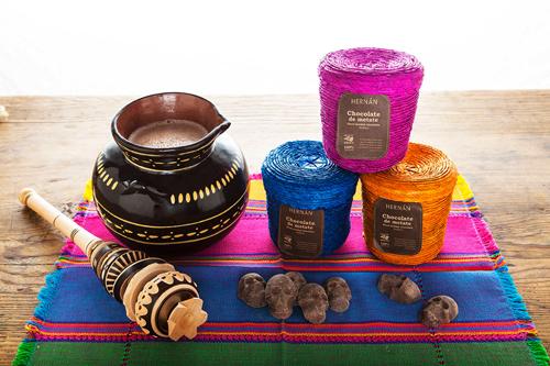 Skull Baskets, Hot Chocolate, and Molinillo