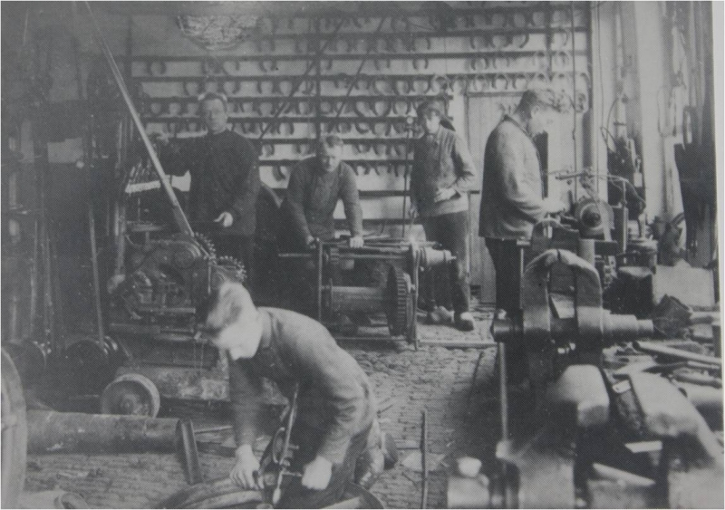 Boska Workshop in 1896