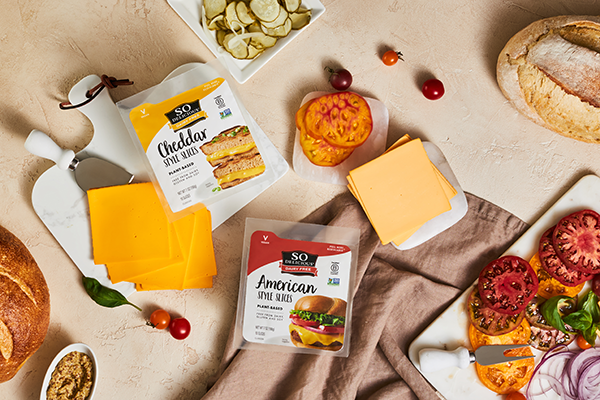 Danone's So Delicious Dairy Free line includes new Plant-Based Slices, Shreds, and Spreads