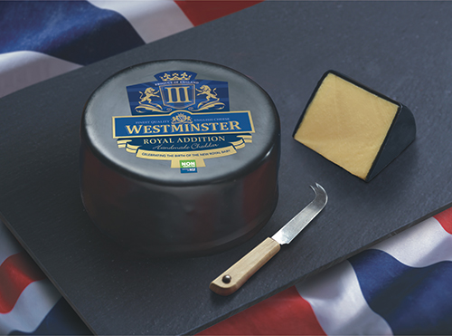 Westminster 'Royal Addition' Cheddar is certified Non-GMO