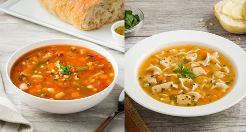 Three Campbell's® Signature Reduced Sodium soups are coming to the foodservice sector