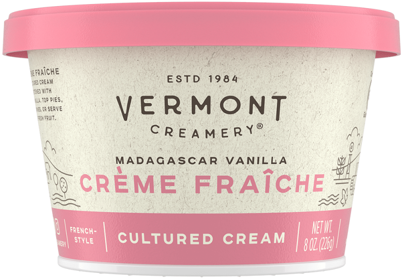 Herb Goat Cheese, a fresh goat cheese log rolled in rosemary, basil, oregano and thyme, and Vanilla Crème Fraîche, a rich, cultured cream laced with Madagascar vanilla, both won Best-in-Class in their categories