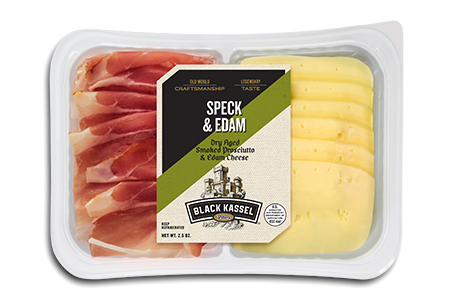 Black Kassel Speck and Edam