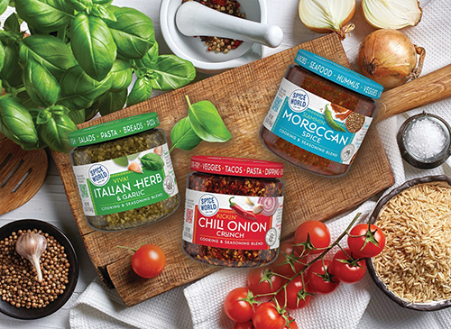 Continuing to innovate the spice category, Spice World has launched its new Global Flavors™ line that includes five new varieties