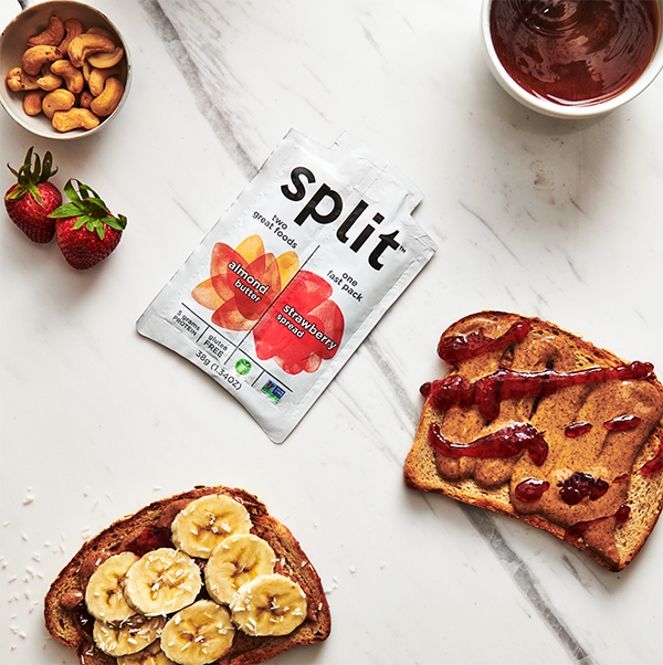 Split Nutrition has donated 200,000+ nut butter/jam combo packs to over 150,000 families in need