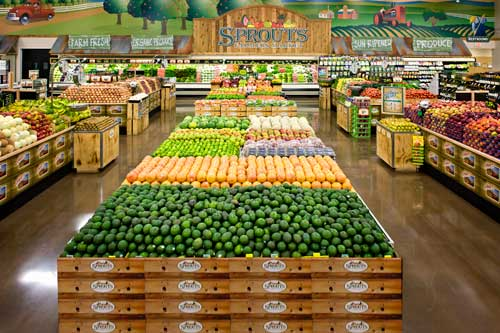 Sprouts Produce Aisle