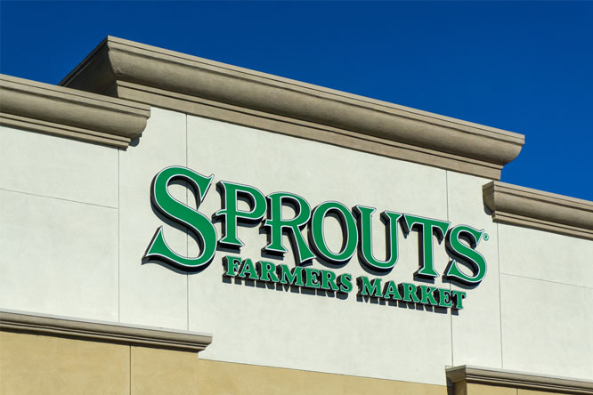 Sprouts Farmers Market announced four new stores in Texas, Florida, and California