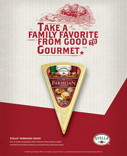 """Saputo is launching a new campaign inviting consumers to """"Go from Good to Gourmet"""" with its Stella® Cheese brand"""