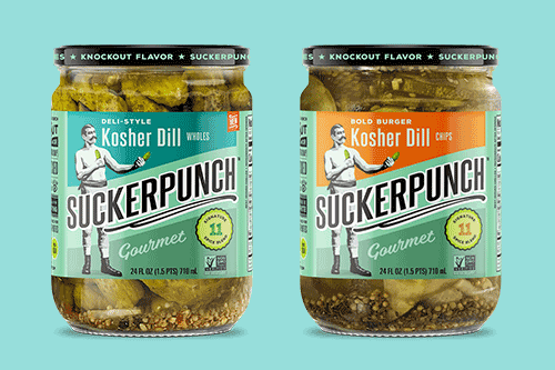 SuckerPunch has announced the expansion of its specialty portfolio with the debut of its Kosher Dill Pickle lineup