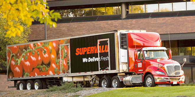 SuperValu's wholesale operations now make up approximately 75 percent of the company's total annual sales