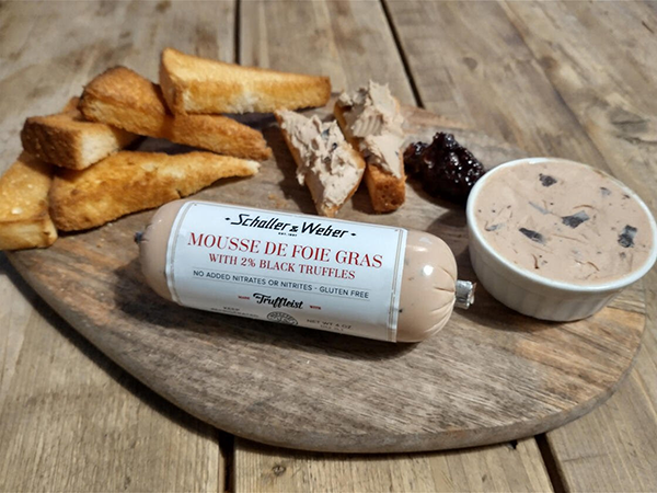 Teaming up with The Truffliest, Schaller & Weber has brought a new flavor to the market: Mousse de Foie Gras
