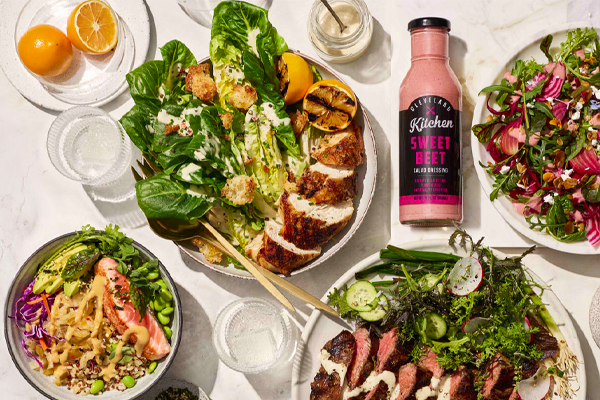 Cleveland Kitchen recently launched one of the world's first fermented Dressings and Marinades and partnered with Whole Foods Market for distribution
