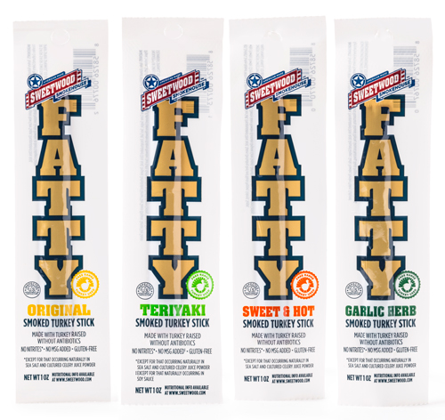 The Turkey Fatty line contains no nitrites, added MSG, or GMOS, and is gluten-free