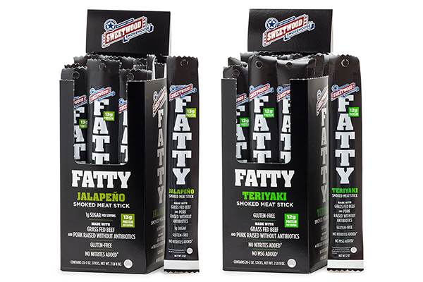 Each FATTY is made with a handcrafted blend of ABF pork, grass-fed beef, and all-natural ingredients