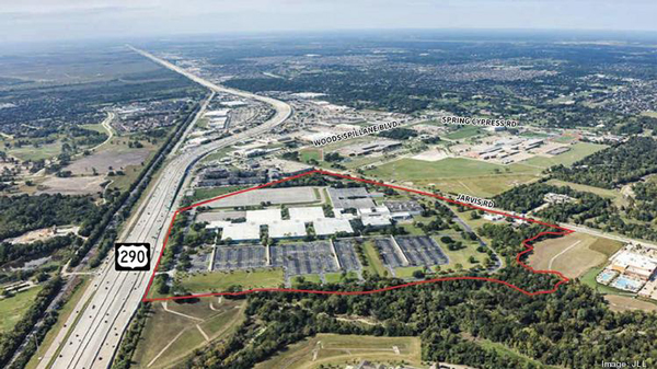 Sysco has partnered with JLL to list its 106-acre property in Houston, Texas, for sale (Photo credit: Biz Journal)