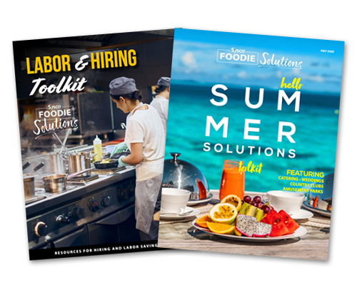 Expanding its Foodie Solutions platform, the new Labor & Hiring and Summer Solutions toolkits join a series of carefully curated tools to help Sysco's partners generate additional revenue and meet consumer expectations