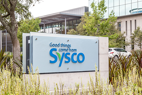 Sysco has been forced to cut jobs at its shared services center in Cypress, Texas