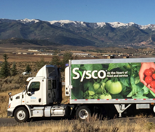 Sysco recently rolled out a pop-up grocery store at the Southwest Florida Event Center in Bonita Springs, Florida