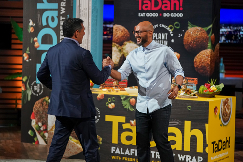 TaDah Foods found an investment partner in Shark Tank's Daniel Lubetzky (image credit: Shark Tank)