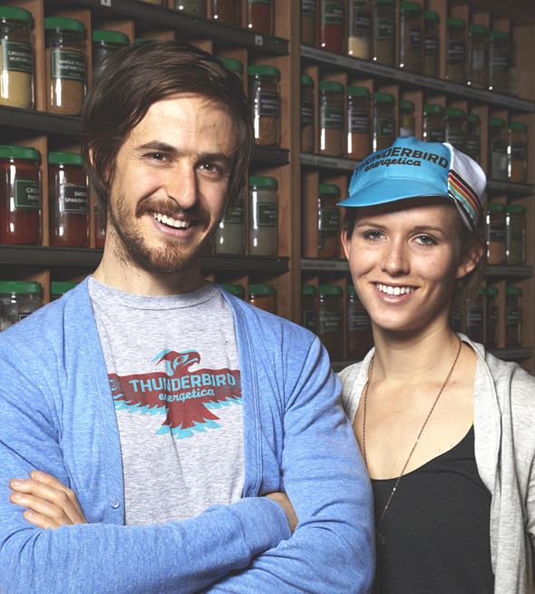Taylor Collins & Katie Forrest, Epic Provision Co-Founders (Photo Source: Tribeza)