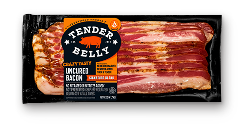 Tender Belly reports that even though the cost of the product is more than what people are used to, premium products like its Uncured Bacon have started to take hold and become a consumer preference