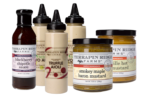 Terrapin Ridge Farms is blending flavor with convenience, recently rolling out a new line of sauces and spreads