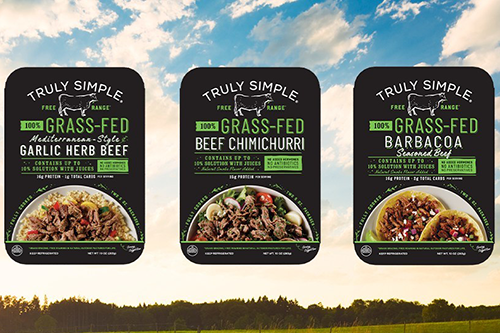 Teys launched its Truly Simple portfolio at Tops Friendly Markets, featuring fully-cooked, 100 percent grass-fed, free-range Australian beef products with no antibiotics or added hormones