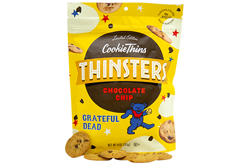 Thinsters also recently entered into a partnership with The Grateful Dead