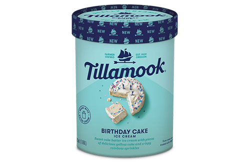 Tillamook's new Birthday Cake flavor is actually a twist on Grandma's Cake Batter, which is an old fan favorite