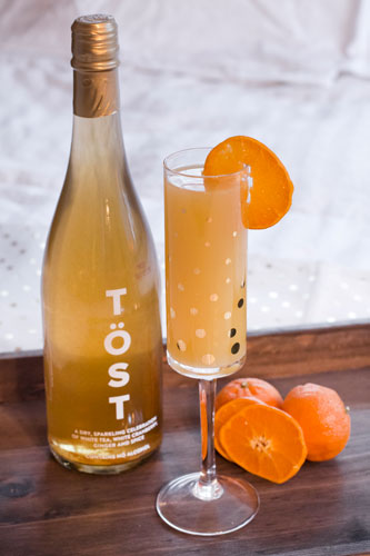 Töst Beverages introduces its new 12-oz bottles (Photo Credit: Kimberly Glatz, Instagram)