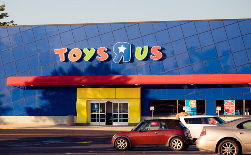 "Toys ""R"" Us storefront"