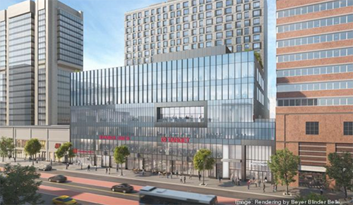 Trader Joe's recently revealed a new store location in Harlem, New York, which will be part of a massive 466,000-square-foot development (Rendering by Beyer Blinder Belle/NYBJ)