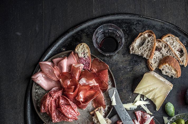 Volpi Foods' prosciutto and salumi