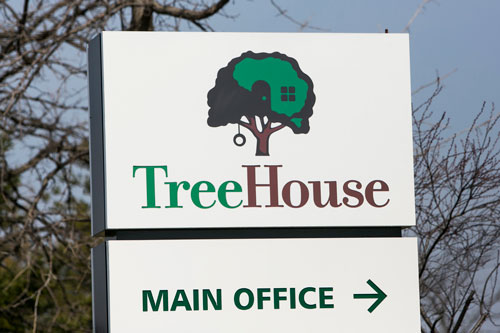 TreeHouse Foods will be saying goodbye to its St. Louis, Missouri, office come June 28