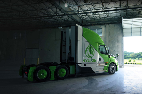 The new engines from Hyliion allow Wegmans to reimagine the future of its truck fleet in a more sustainable, environmentally friendly light