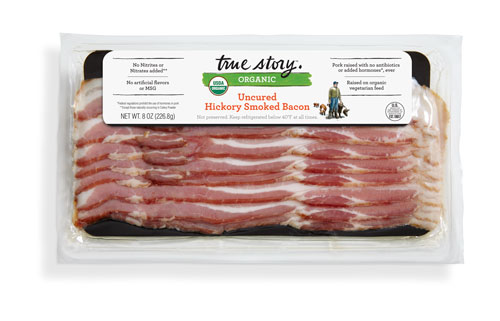 True Story Foods' Organic Uncured Hickory Smoked Bacon
