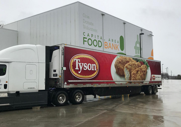 Tyson Article: Banding Together to Help Federal Workers Feed Their Families