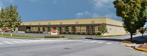 Rendering of the new Tyson Company Store.