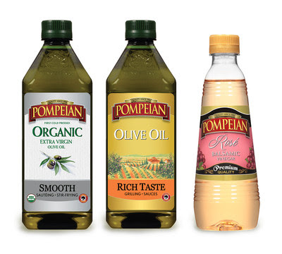 Pompeian® has revealed an expansion of its olive oil and vinegar offerings, launching three new innovations to help shoppers eliminate confusion in the aisle and meet the needs of varying taste buds