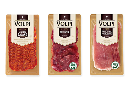 Volpi Foods recently unveiled a new innovation in its brand-new eco-friendly packaging