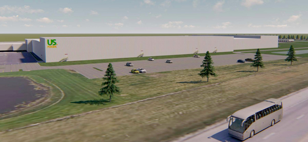 US Foods unveiled new plans for a $20 million expansion of its Fishers, Indiana, distribution center