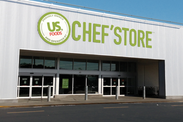 US Foods has revealed that it will be rebranding its Smart Foodservice® Warehouse Stores as CHEF'STORE®