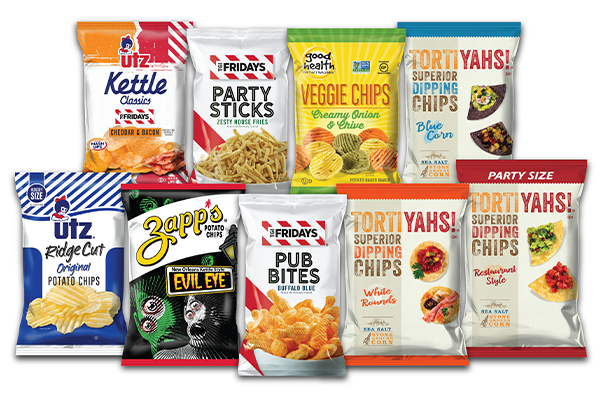 With its most recent line-up, Utz promises a mixture of both good and evil snack food adventures