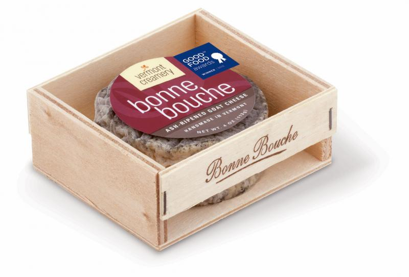 Vermont Creamery's 1st place winning Bonne Bouche cheese