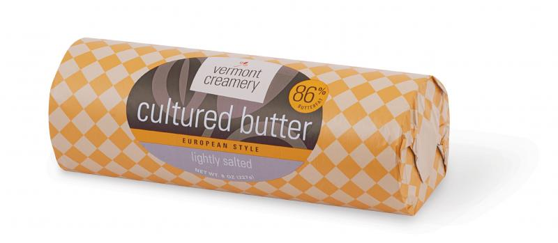 Vermont Creamery's award-winning Lightly Salted Cultured Butter