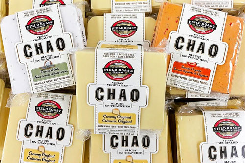 Plant-based cheeses top the charts in retail sales of specialty items