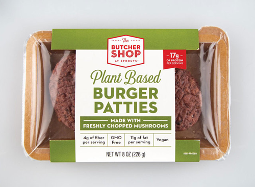 Sprouts Farmers Market is expanding its line of The Butcher Shop offerings with the addition of its new Plant Based Burger Patties