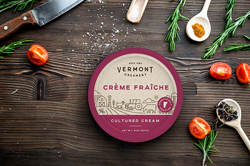 Vermont Creamery's latest rebrand dives deeper into the goat cheese company's story