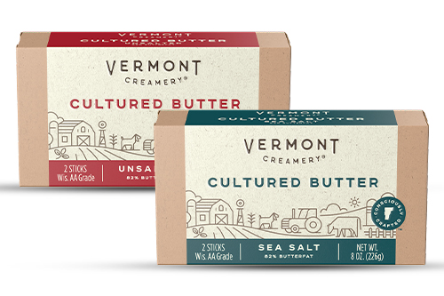 Vermont Creamery has announced it will head to market with its new cultured butter, now available in grocery stores nationwide