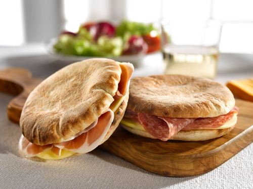 Veroni's Panino Italiano is available in three flavors: mild salami, spicy salami, and prosciutto